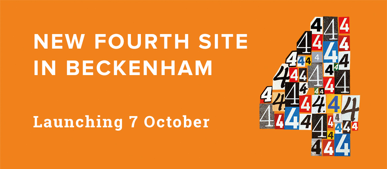 New fourth site launching in Beckenham